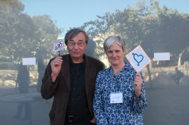 Dr. Csordas, Global Health Director and Dr. Gere