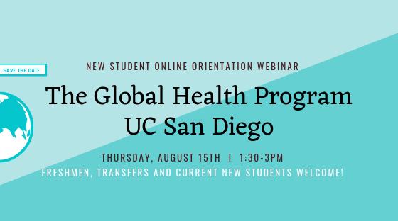Ucsd Academic Calendar 2019.Uc San Diego Global Health Blog